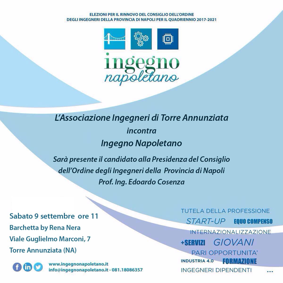Incontro con i candidati di Ingegno Napoletano