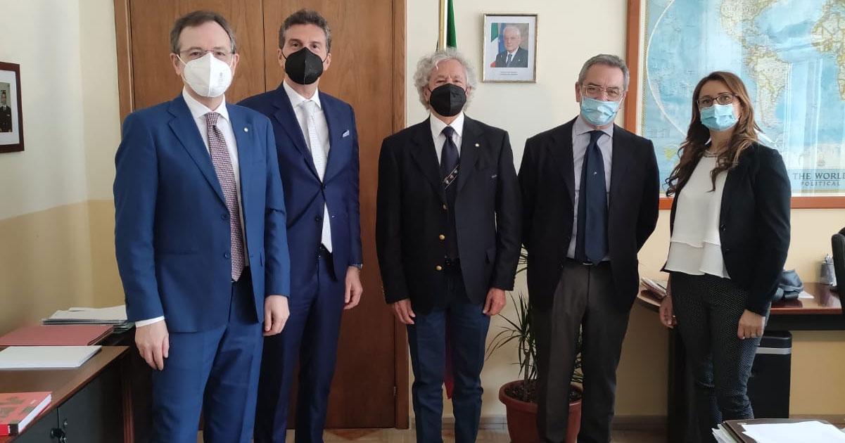 Incontro con Andrea Annunziata, presidente ADSP Mar Tirreno Centrale