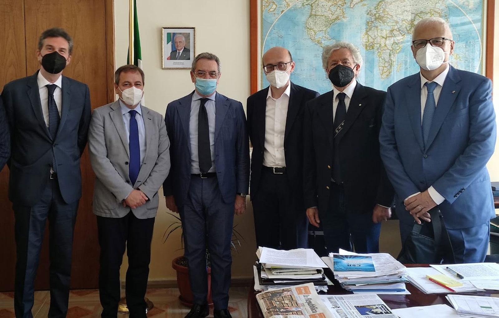 Seconda riunione con il Presidente Andrea Annunziata